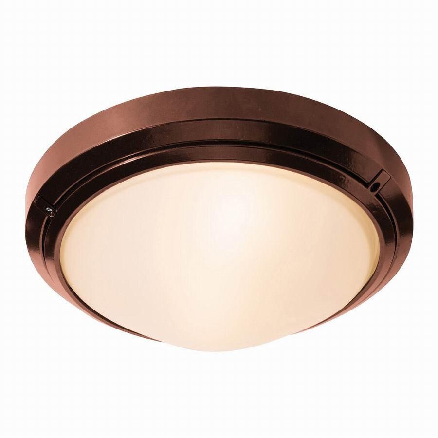 Access Lighting Oceanus 10-1/2-in Bronze Outdoor Wall Light