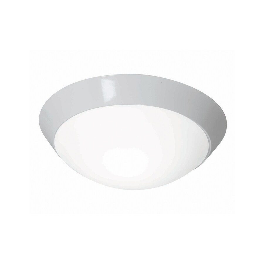 Shop access lighting cobalt 11 in w white ceiling flush for Flush mount white ceiling light