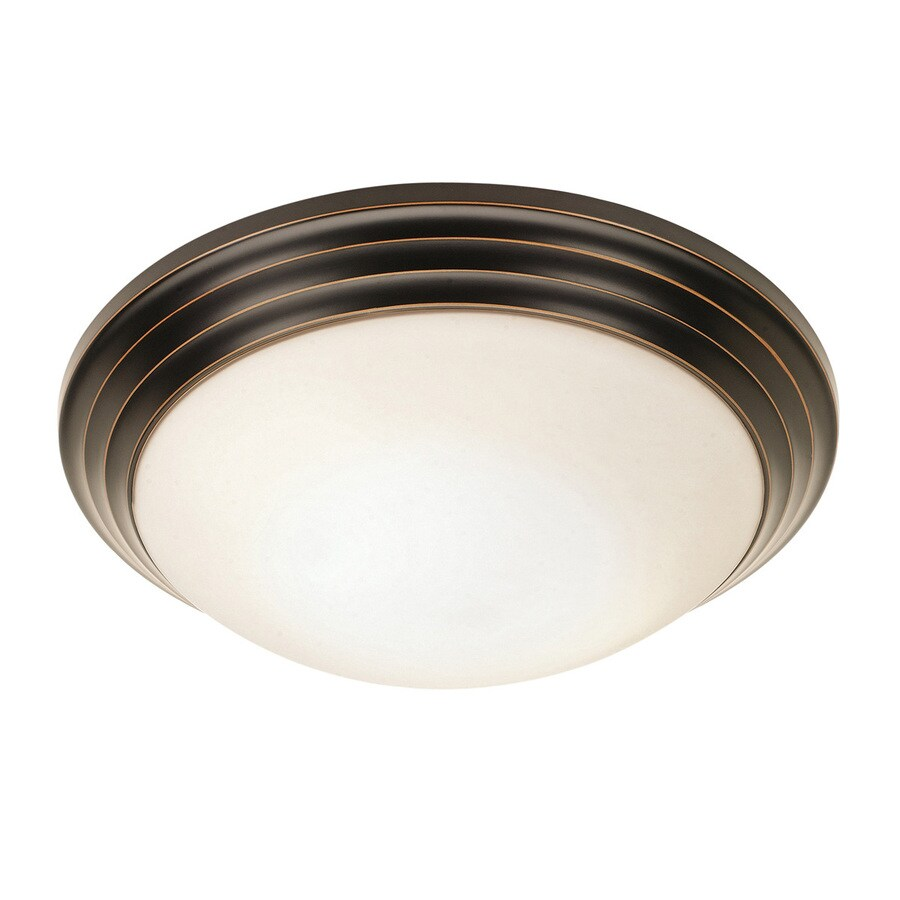 lighting strata 10 in w oil rubbed bronze ceiling flush mount light. Black Bedroom Furniture Sets. Home Design Ideas