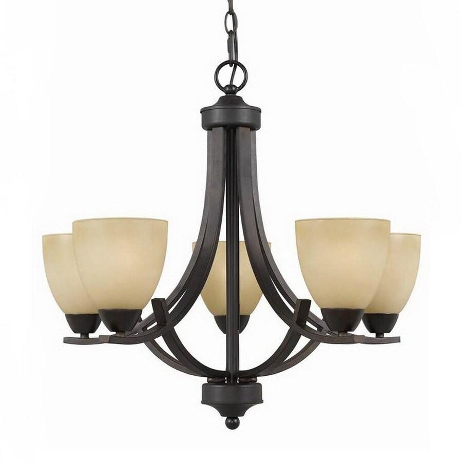 Triarch International Value Series 240 5-Light English Bronze Chandelier