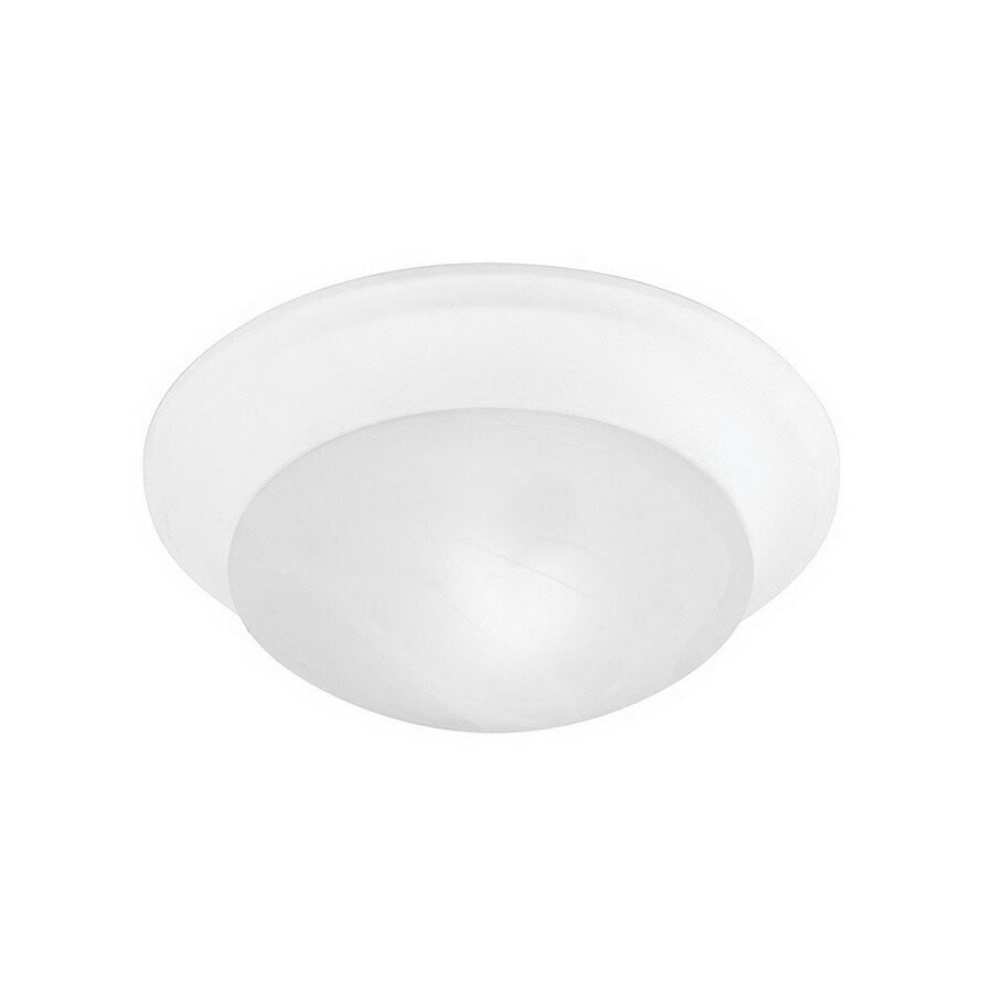 Livex Lighting 11.5-in W White Ceiling Flush Mount