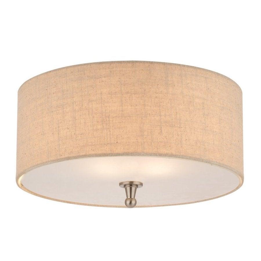 Thomas Lighting Allure 15-in W Brushed Nickel Ceiling Flush Mount Light