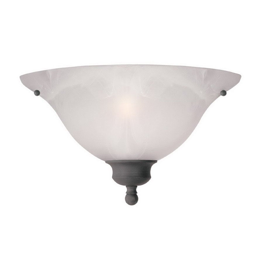 Thomas Lighting 14-in W 1-Light Painted Bronze Pocket Hardwired Wall Sconce