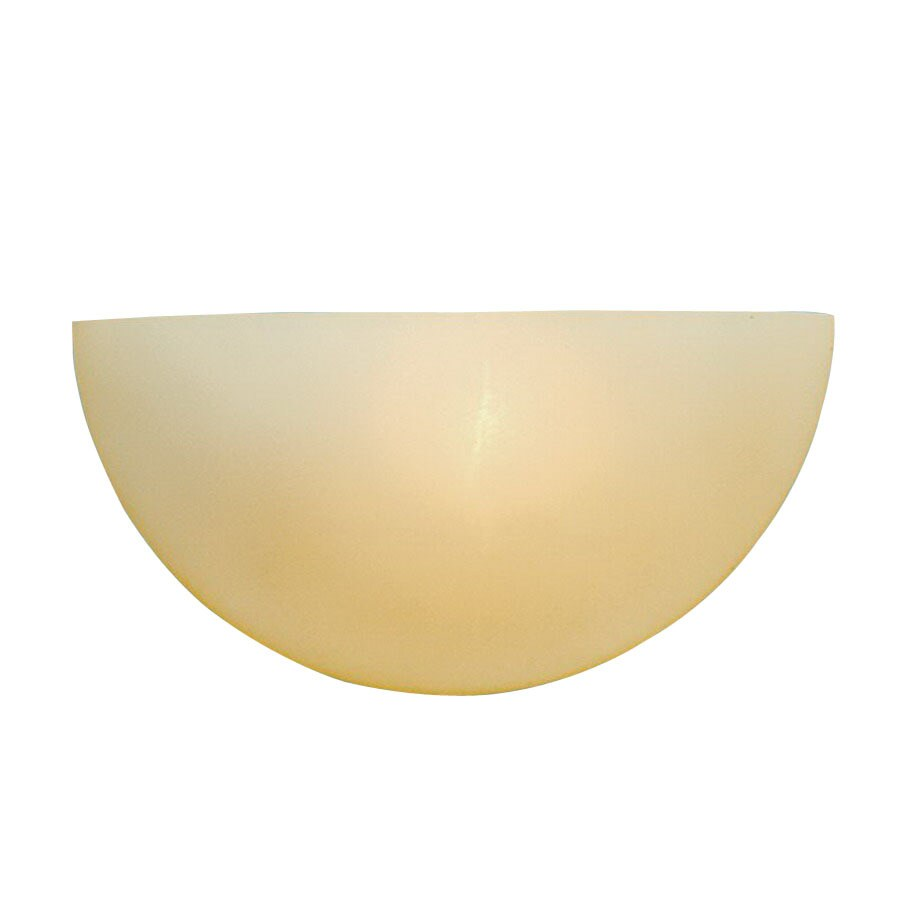Millennium Lighting 10-in W 1-Light Khaki Pocket Hardwired Wall Sconce