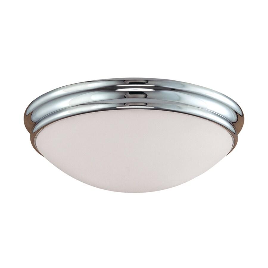 Millennium Lighting 10-in W Chrome Ceiling Flush Mount Light