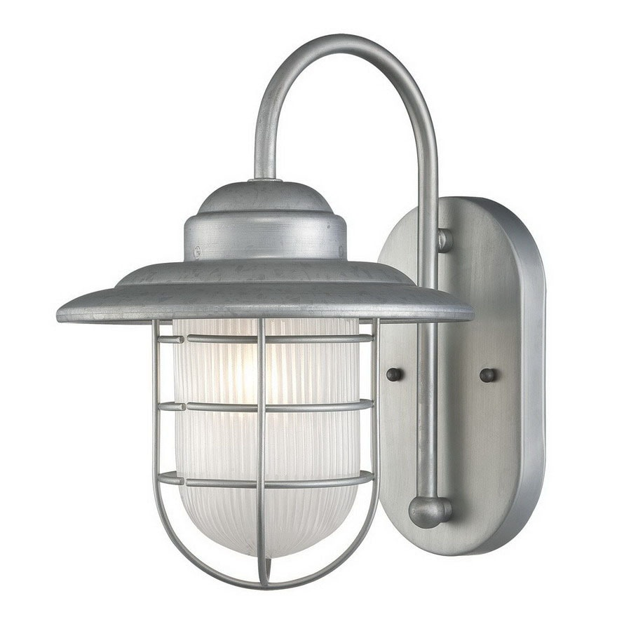 Millennium Lighting R Series 11-1/2-in Galvanized Outdoor Wall Light