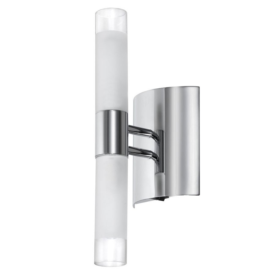 Shop Dainolite Lighting 4.25-in W 1-Light Polished Chrome Arm Hardwired Wall Sconce at Lowes.com