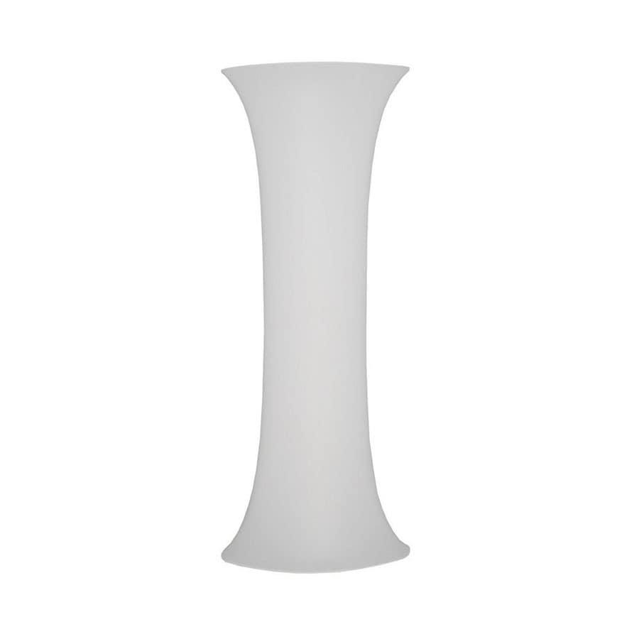 Dainolite Lighting 71-in Polished Chrome Floor Lamp with Shade