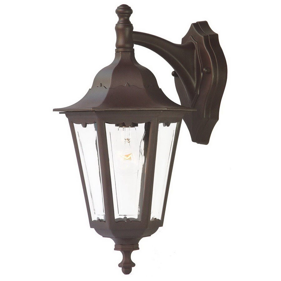 Acclaim Lighting Tidewater 17-1/2-in Architectural Bronze Outdoor Wall Light