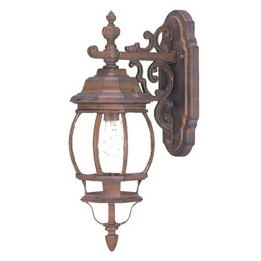 Acclaim Lighting Chateau 18-3/4-in Burled Walnut Outdoor Wall Light