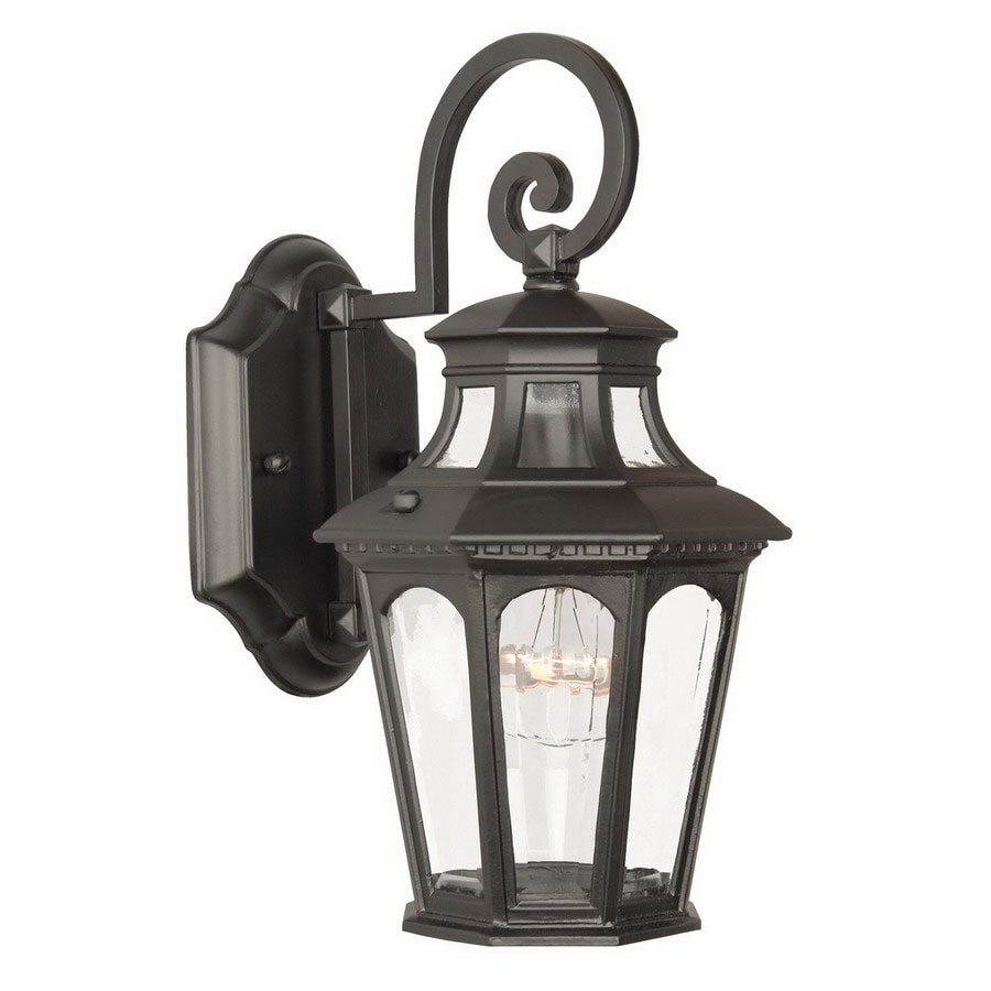 Acclaim Lighting Newcastle 12-1/2-in Matte Black Outdoor Wall Light