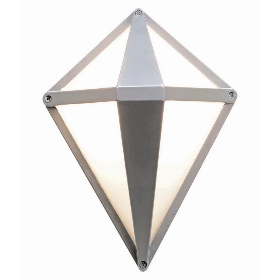Access Lighting Oden 11-1/2-in Satin Outdoor Wall Light
