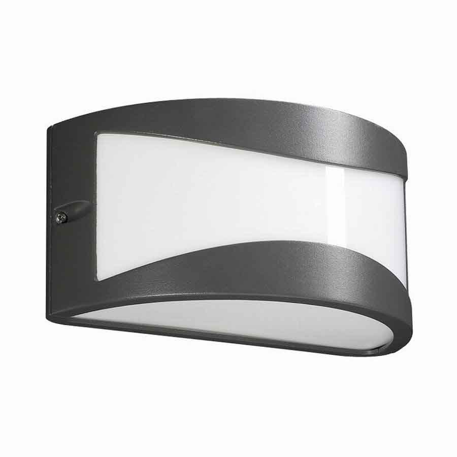 PLC Lighting Baco 4-1/4-in Architectural Bronze Outdoor Wall Light