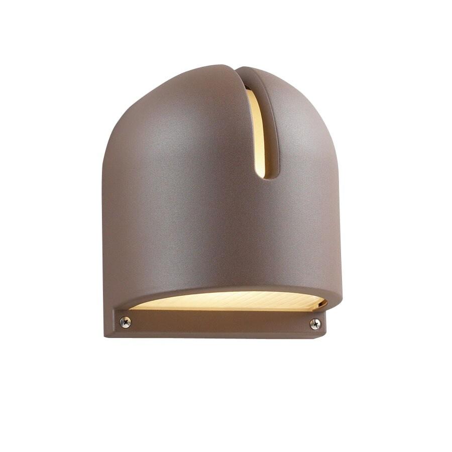 PLC Lighting Phoenix 9-in Architectural Bronze Outdoor Wall Light