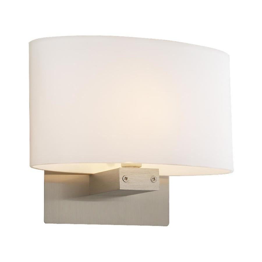 PLC Lighting Danza Flush 12.5-in W 1-Light Architectural Bronze Pocket Hardwired Wall Sconce