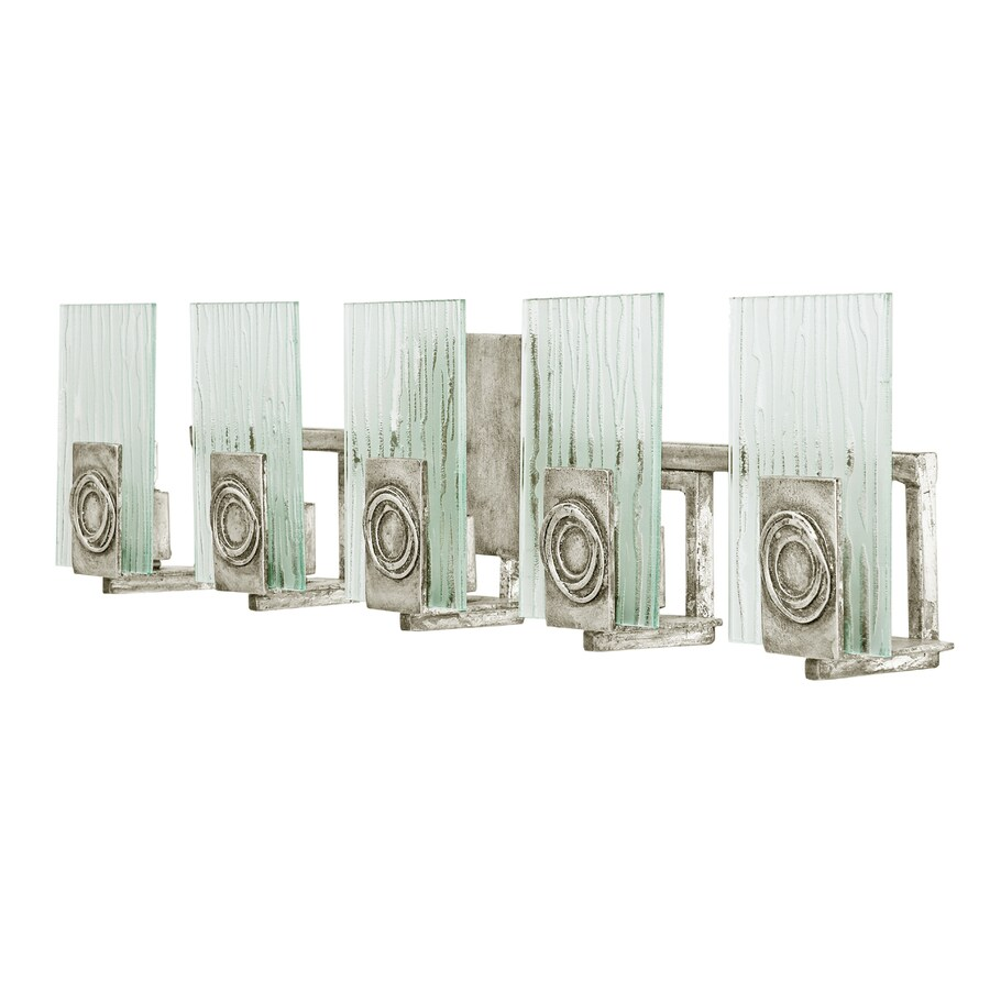 light polar blackened silver bathroom vanity light at. Black Bedroom Furniture Sets. Home Design Ideas