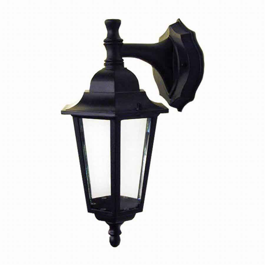Whitfield Lighting 14-in Black Outdoor Wall Light