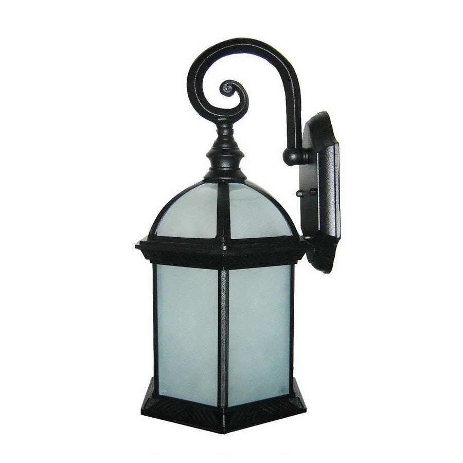 Whitfield Lighting 16-in Black Outdoor Wall Light