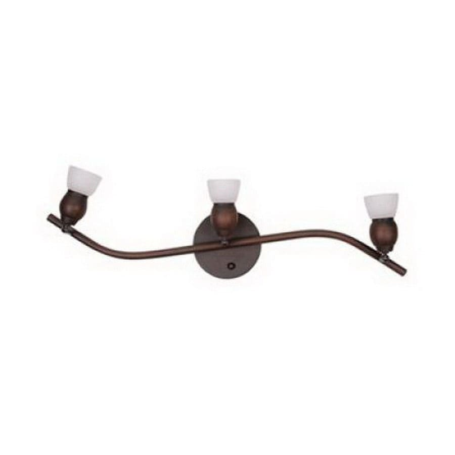 Whitfield Lighting Bentley 23-in W 3-Light Oil Rubbed Bronze Arm Hardwired Wall Sconce