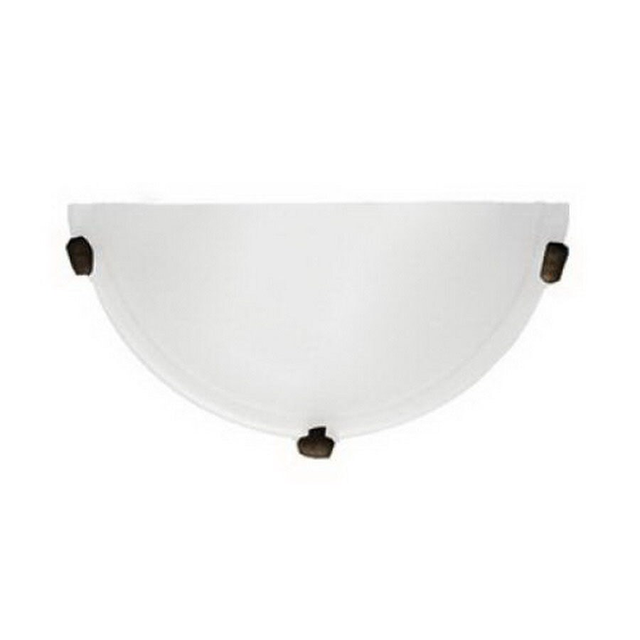 Whitfield Lighting Mickayla 12-in W 1-Light Coffee Pocket Hardwired Wall Sconce