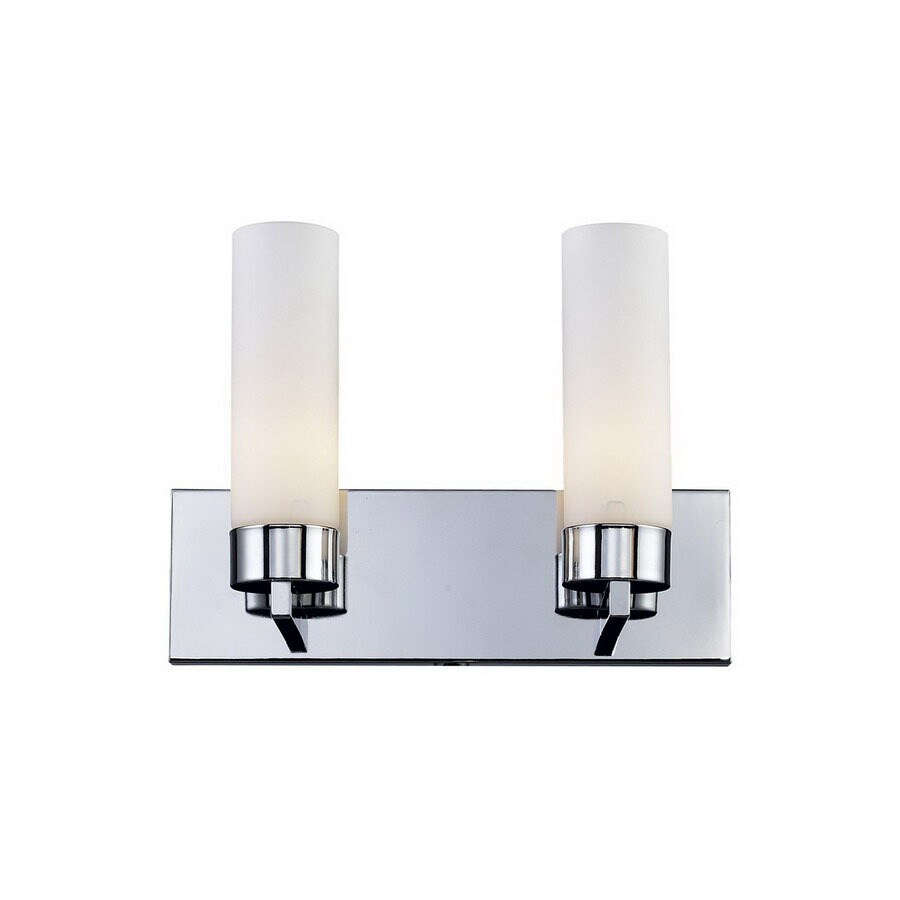 Shop Z-Lite 2-Light Ibis Chrome Bathroom Vanity Light at Lowes.com