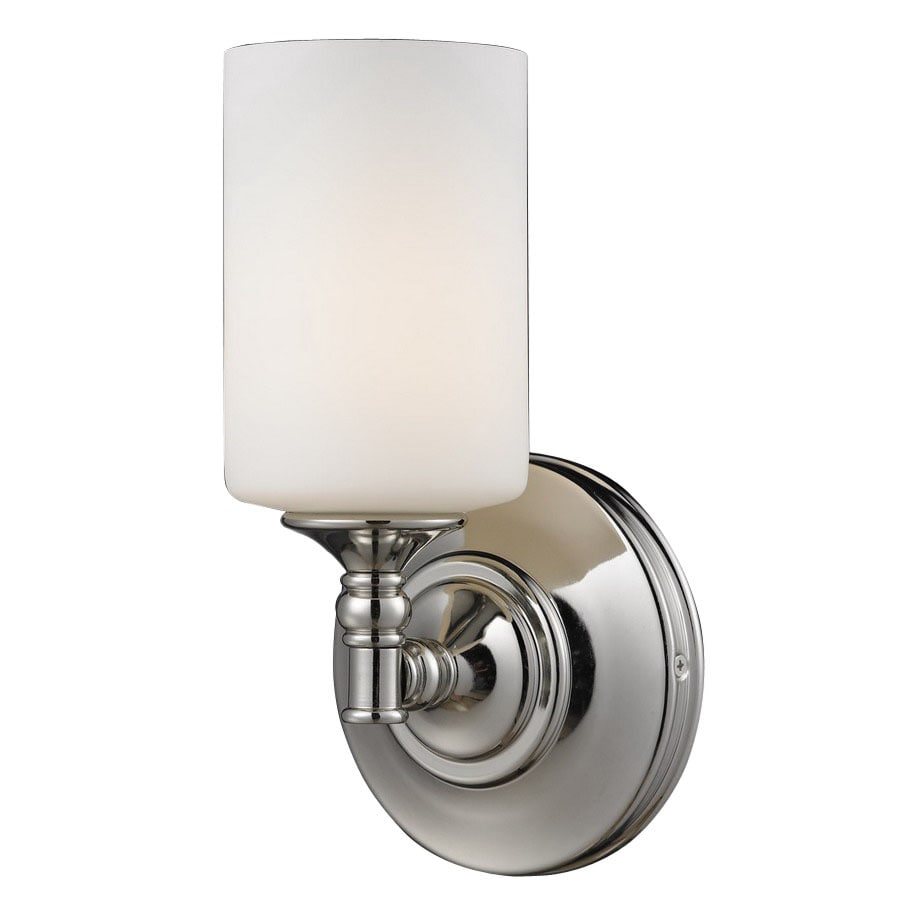 Z-Lite Cannondale 5.75-in W 1-Light Chrome Arm Hardwired Wall Sconce