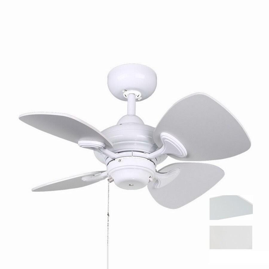 Kendal Lighting 24-in Aries White Ceiling Fan