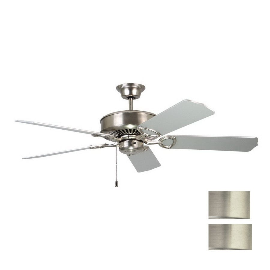 Kendal Lighting 52-in Excellence Satin Nickel Ceiling Fan ENERGY STAR