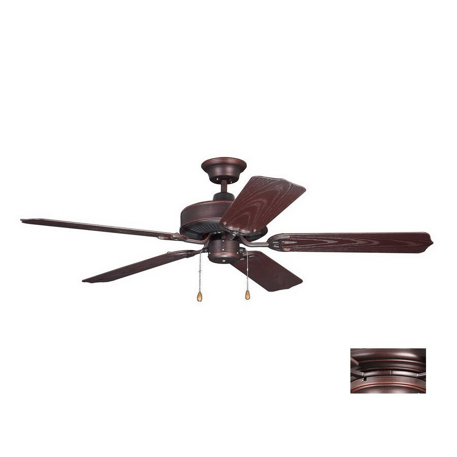 Kendal Lighting 52-in Sea Breeze Copper Bronze Ceiling Fan ENERGY STAR