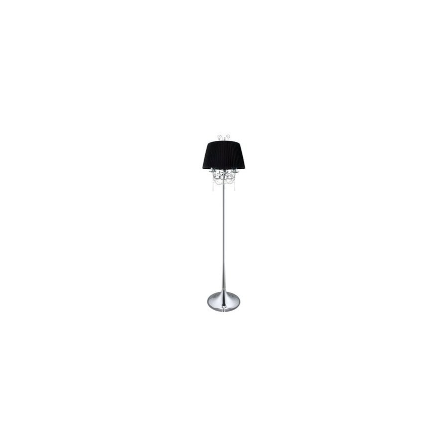EGLO 67-in Chrome Indoor Floor Lamp with Shade