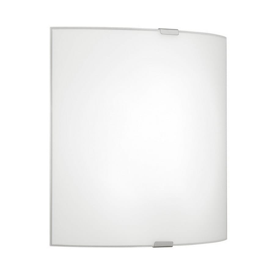 EGLO Grafik 7-in W 1-Light Chrome Pocket Hardwired Wall Sconce