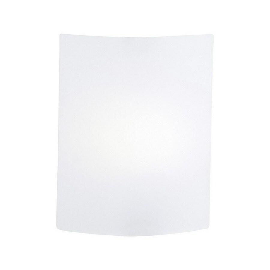 EGLO Fondo 4-in W 1-Light Nickel Pocket Hardwired Wall Sconce