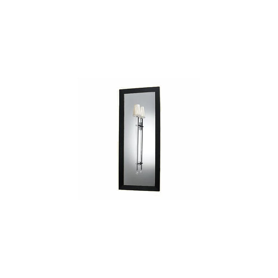 Candice Olson by AF Lighting Candice Olson Margo 6-in W 1-Light Chrome Art Glass Arm Hardwired Wall Sconce