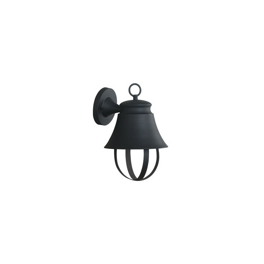 Kenroy Home Claudine 13-in Espresso Bronze Dark Sky Outdoor Wall Light ENERGY STAR