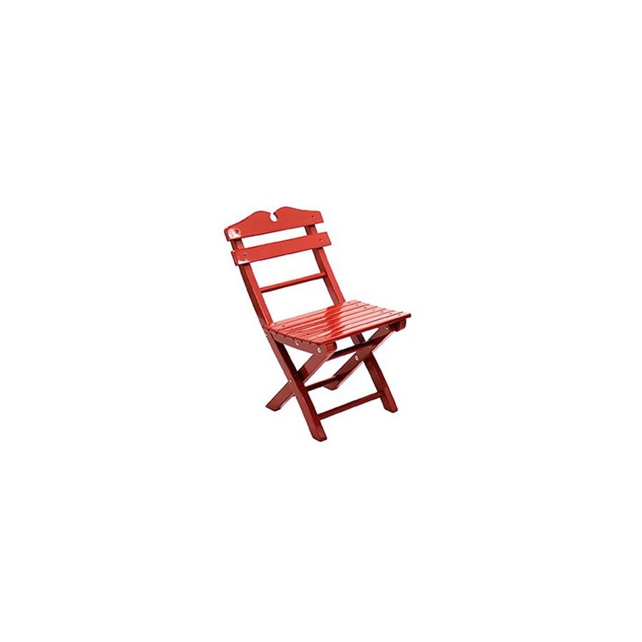 ACHLA Designs Kids Wood Folding Chair