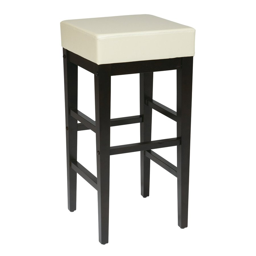 Office Star Osp Designs Espresso 30.25-in Bar Stool