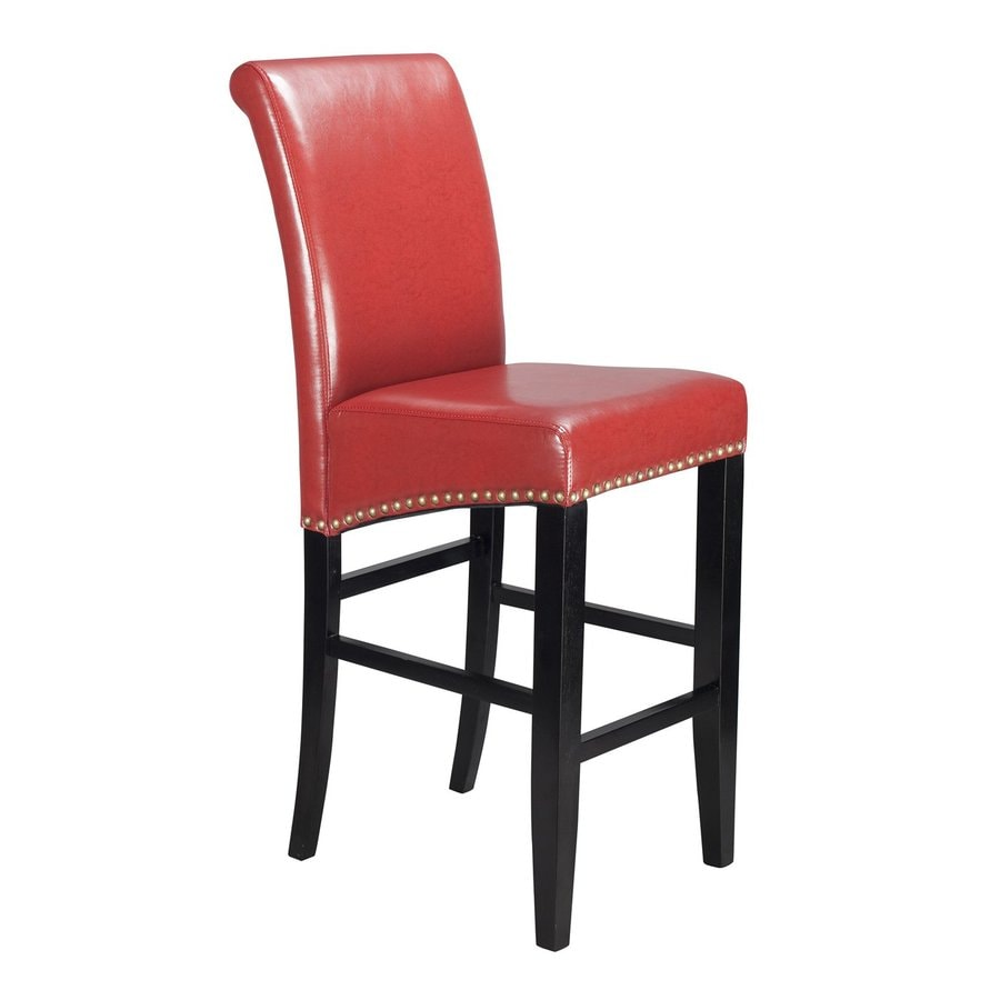 Office Star Osp Designs Dark Espresso 30-in Bar Stool