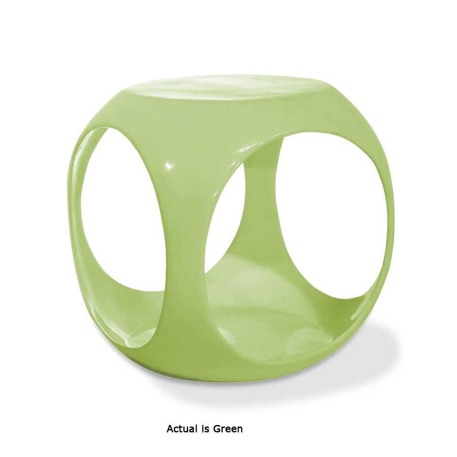 Office Star Avenue Six Green Round End Table