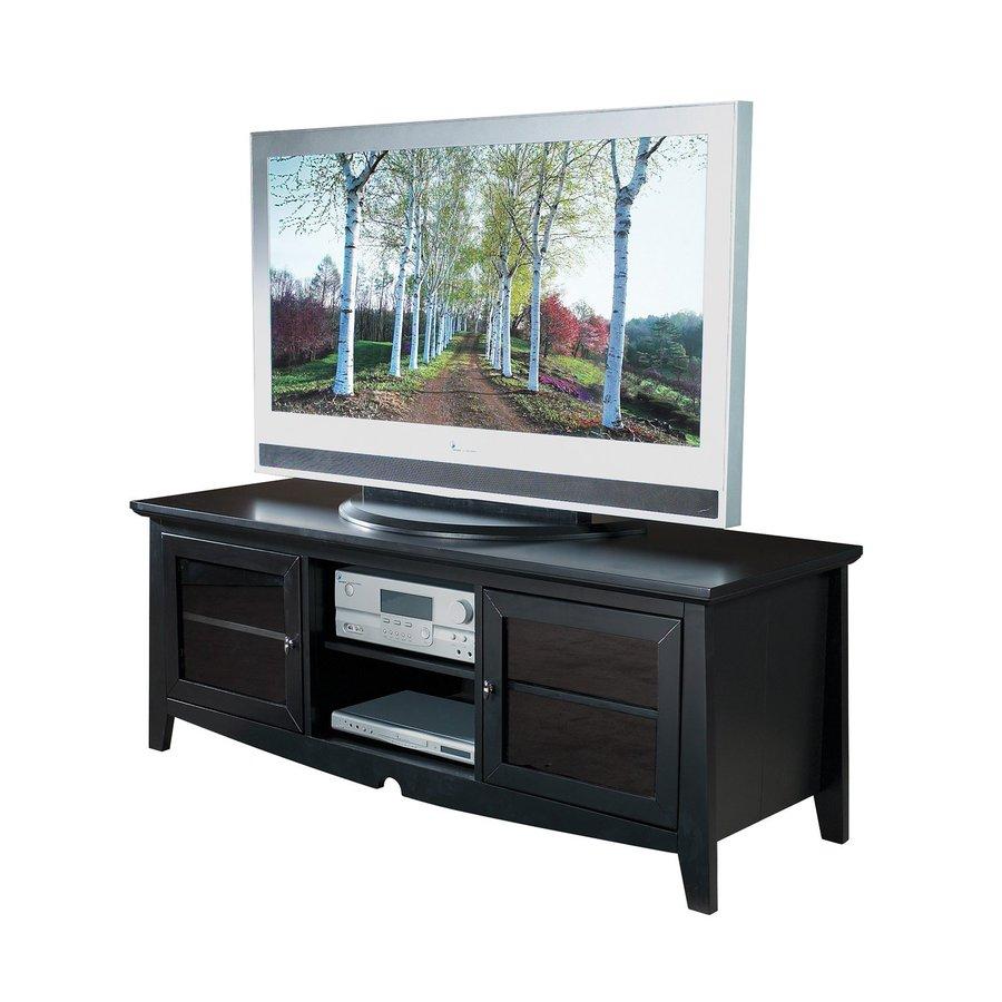 Office Star Osp Designs Black Rectangular Television Cabinet