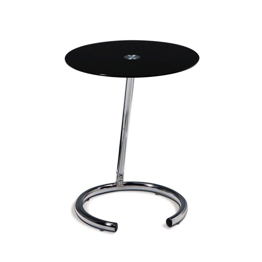 Office Star Avenue Six Chrome Round Telephone Stand