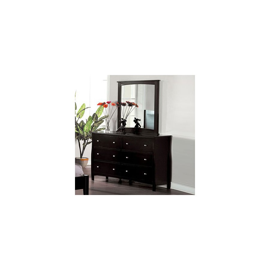 Furniture of America Milano Espresso 6-Drawer Dresser