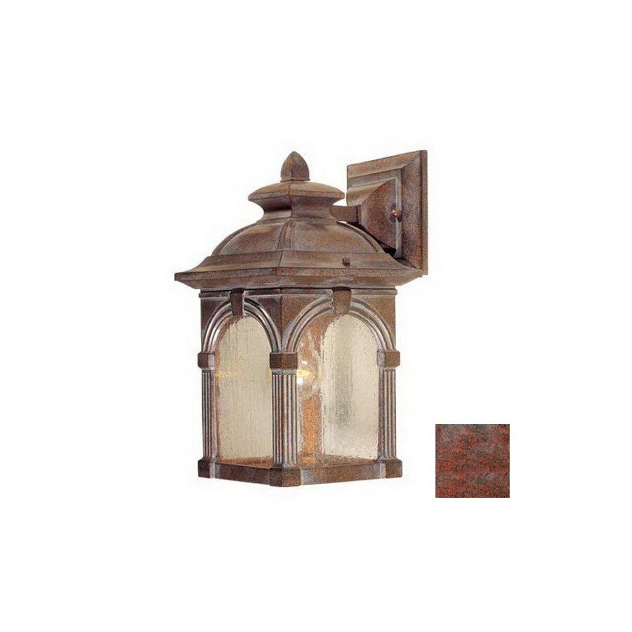 Cascadia Lighting Essex 13-in Royal Bronze Outdoor Wall Light