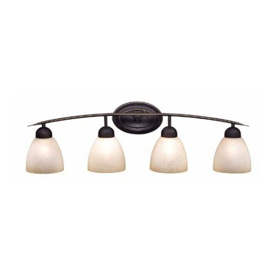 Shop Cascadia Lighting 4 Light Chase Oil Rubbed Bronze