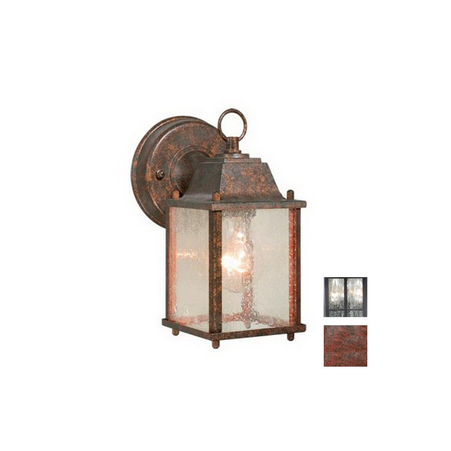 Cascadia Lighting Millard 8-1/2-in Royal Bronze Outdoor Wall Light