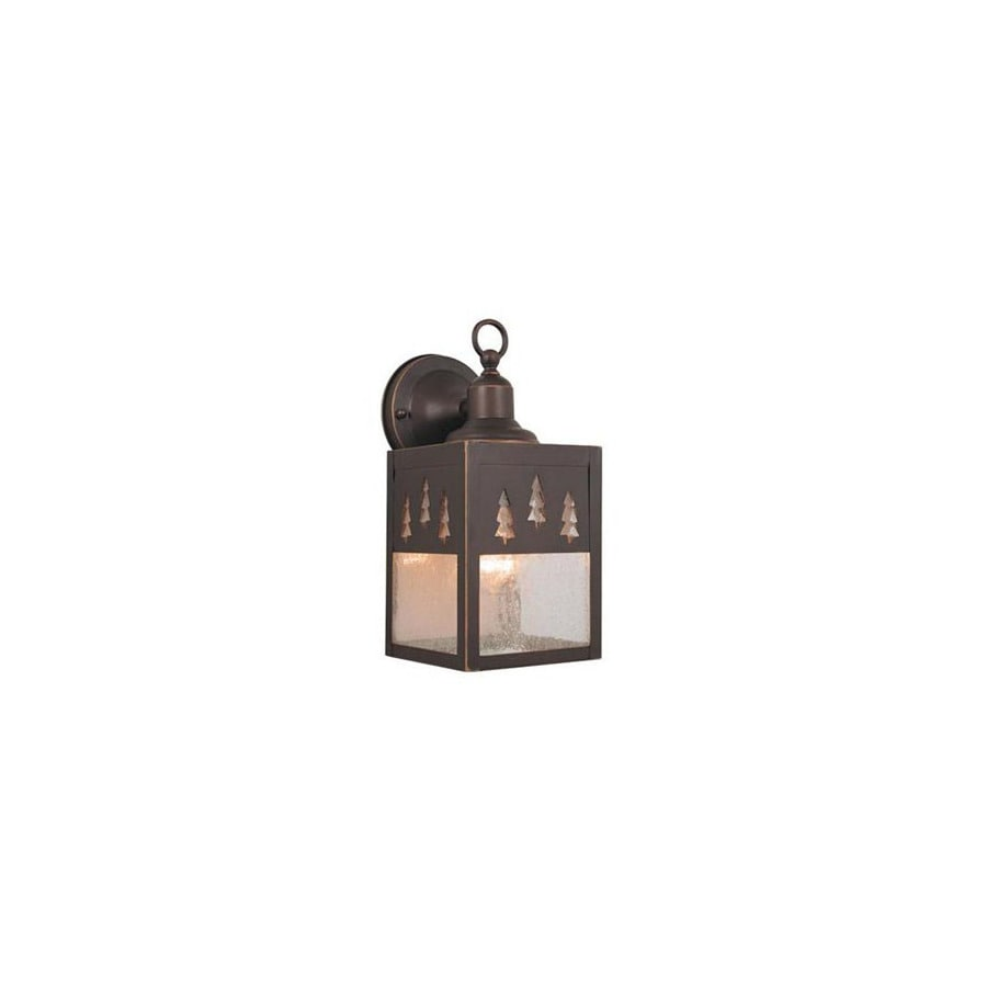 Cascadia Lighting Yosemite 11-in Burnished Bronze Outdoor Wall Light