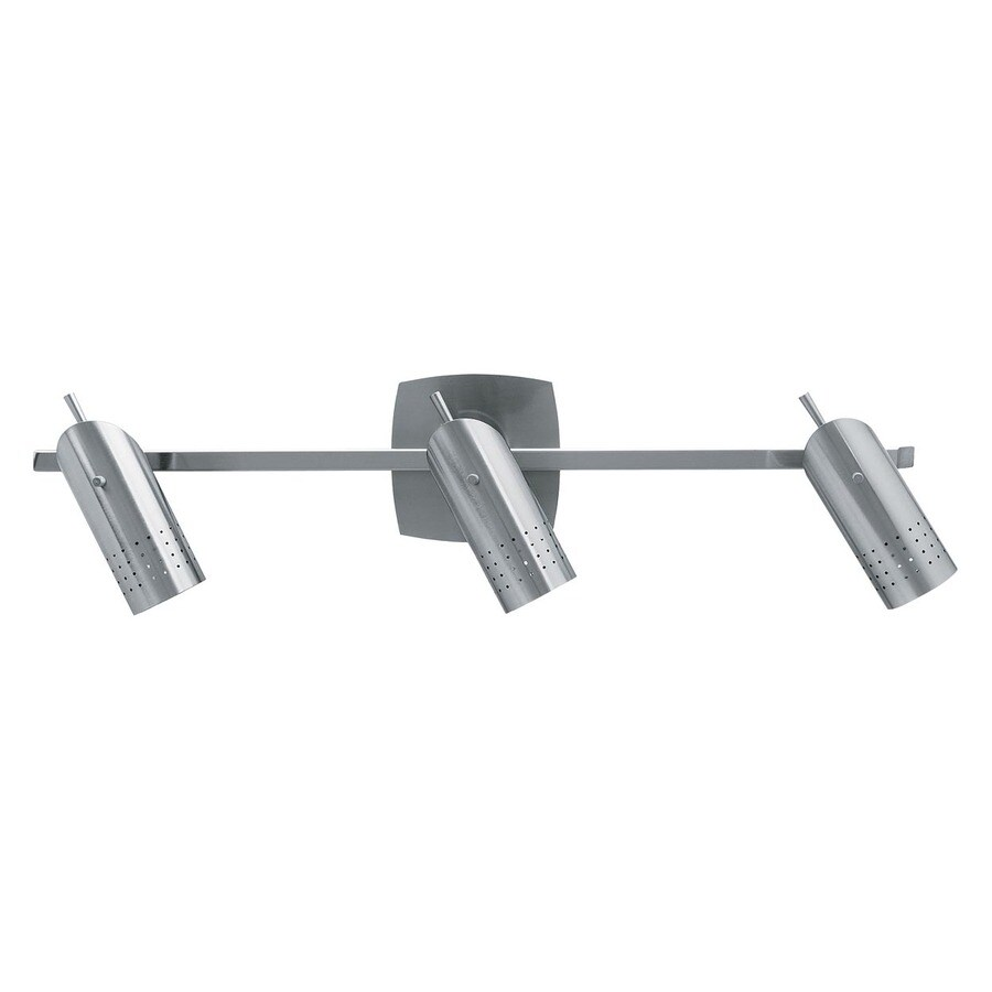 Access Lighting Odyssey 25-in W 3-Light Brushed Steel Arm Hardwired Wall Sconce