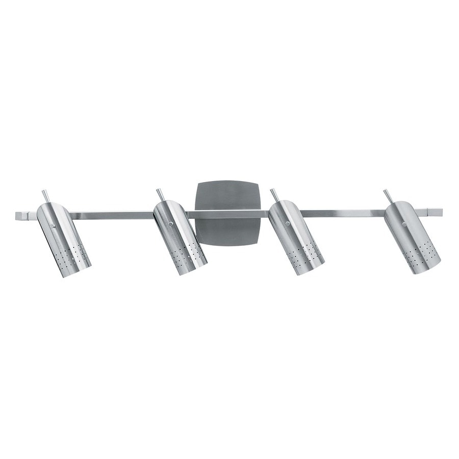 Access Lighting Odyssey 31-in W 4-Light Brushed Steel Arm Hardwired Wall Sconce