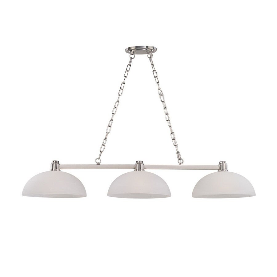 Shop Z-Lite Chelsey 14.75-in W 3-Light Brushed Nickel