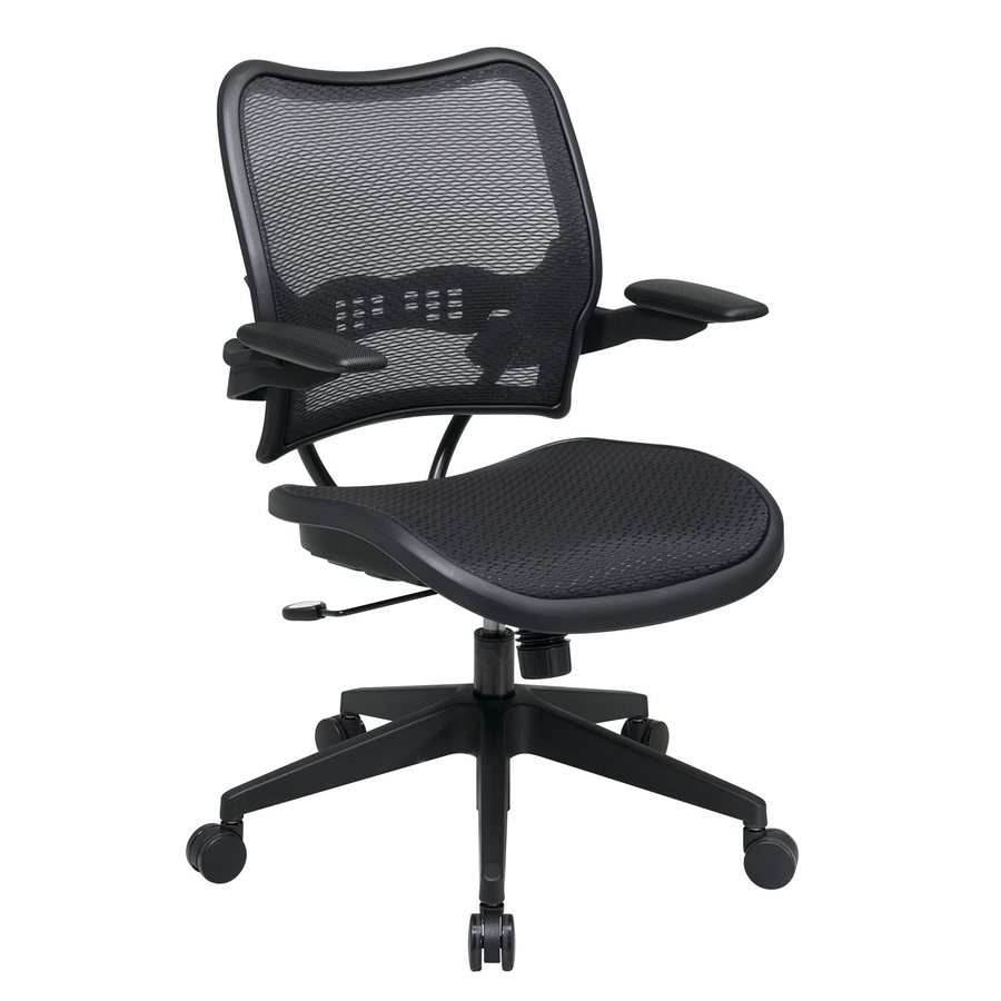Office Star One Space Black Mesh Task Office Chair
