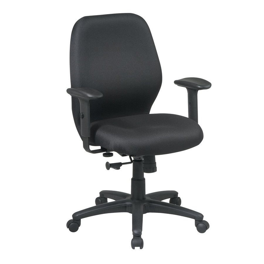 Office Star One WorkSmart Black Manager Office Chair